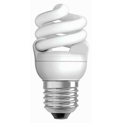 osram energiesparlampe spiralform e27 7 w 420 lm neutralwei eek a kaufen bei obi. Black Bedroom Furniture Sets. Home Design Ideas