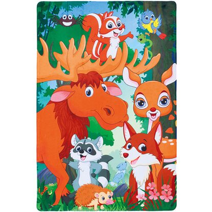 Kinder-Teppich Fairy Tale 635 Forest 100 cm x 150 cm