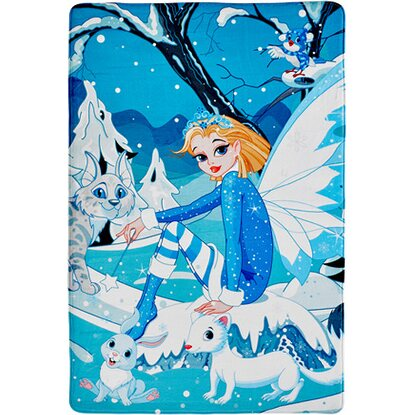 Kinder-Teppich Fairy Tale 640 Ice Fairy 100 cm x 150 cm