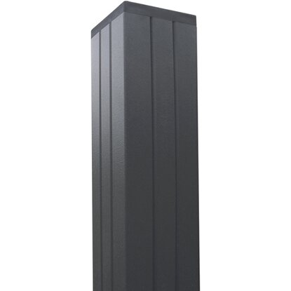 T J Aluminium Pfosten Gotland Tjorn Serie Anthrazit 68 X 68 X 2700