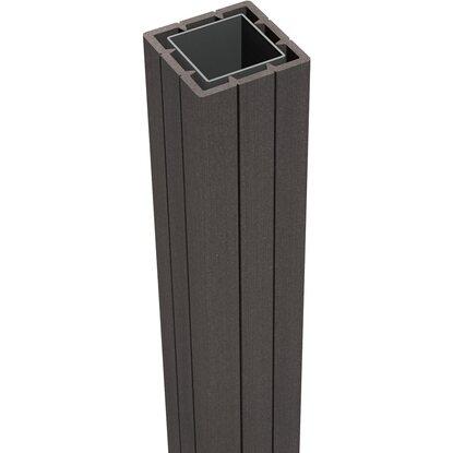 Groja Fertigzaun Pfosten Solid Zum Einbetonieren 7 Cm X 7 Cm X 150