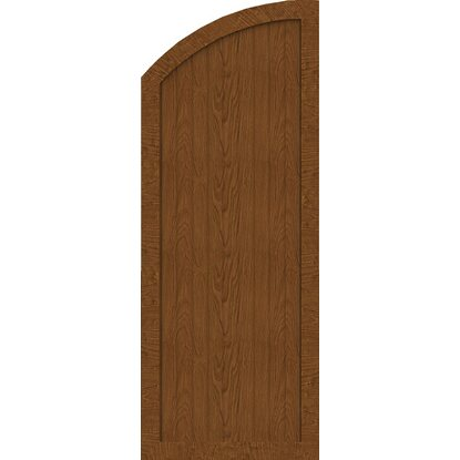 GroJa Sichtschutzzaun BasicLine Typ H Links 70x180/150x4,8 cm Golden-Oak