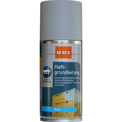 OBI Haftgrundierung Spray Grau matt 150 ml
