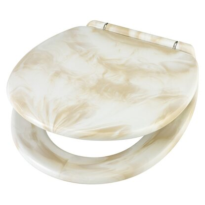 obi wc sitz carrara marmor beige kaufen bei obi. Black Bedroom Furniture Sets. Home Design Ideas