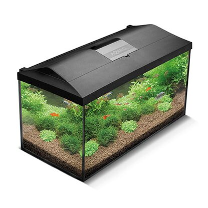 AquaEl Aquarium-Set Leddy 75 Schwarz 105 l