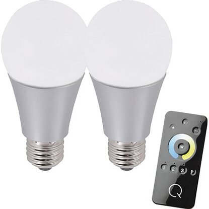 Paul Neuhaus Q-LED-Leuchtmittel-Set E27/ 8,5 W ZigBee CCT-tunable White EEK: A+