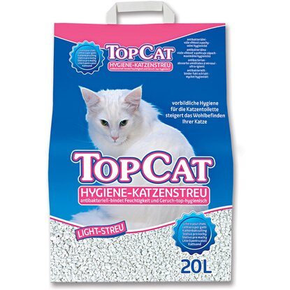 Katzenstreu Top Cat Hygiene-Streu Light 20 l