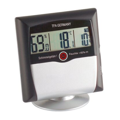 TFA Digitales Thermo-Hygrometer Comfort Control