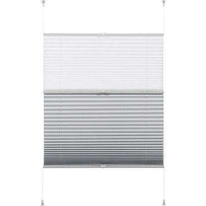 gardinia easy fix plissee tag und nacht wei 90 cm x 130 cm kaufen bei obi. Black Bedroom Furniture Sets. Home Design Ideas