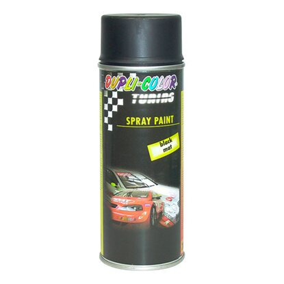 Dupli-Color Lackspray Tuning Schwarz matt  400 ml