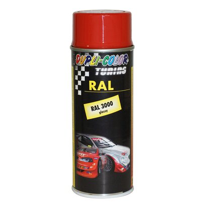Dupli-Color Lackspray Tuning RAL 3020 Verkehrsrot 400 ml