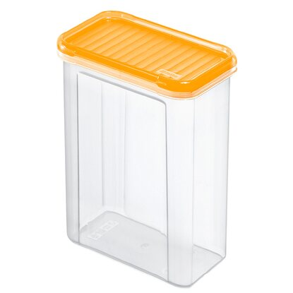 Rotho Vorratsdose Domino 1,5 l Gelb-Transparent