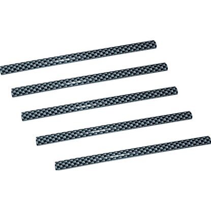 Eufab Carbon Zierleisten-Set 13 cm x 5 mm