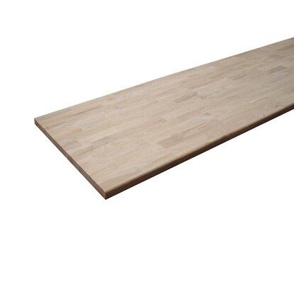 obi arbeitsplatte eiche ge lt 27 mm kaufen bei obi. Black Bedroom Furniture Sets. Home Design Ideas
