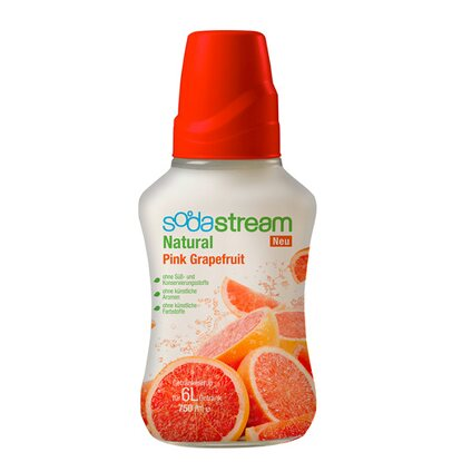 SodaStream Sirup Natural-Pink-Grapefruit 750 ml