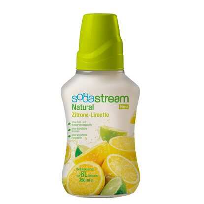 SodaStream Sirup Natural-Zitrone-Limette 750 ml