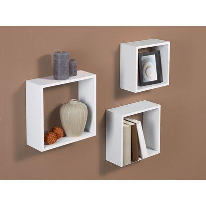 obi kubus set roanne wei 3 teilig kaufen bei obi. Black Bedroom Furniture Sets. Home Design Ideas