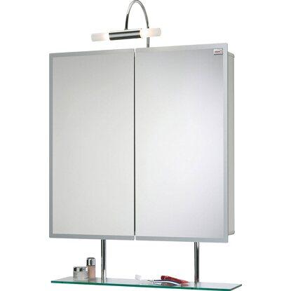 sieper spiegelschrank aluline 65 cm alu eek d kaufen bei obi. Black Bedroom Furniture Sets. Home Design Ideas