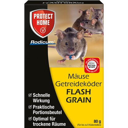 Protect Home Mäuse Getreideköder Flash Grain 80 g