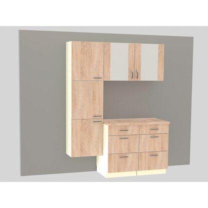optifit unterschrank ohne arbeitsplatte kult padua 50 cm mit drei schubladen kaufen bei obi. Black Bedroom Furniture Sets. Home Design Ideas