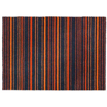sch ner wohnen kollektion sauberlaufmatte brooklyn streifen orange 50 cm x 70 cm kaufen bei obi. Black Bedroom Furniture Sets. Home Design Ideas