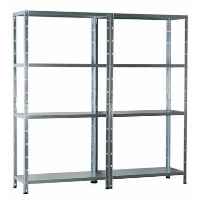obi metall steckregal verzinkt 180 cm x 180 cm x 40 cm kaufen bei obi. Black Bedroom Furniture Sets. Home Design Ideas