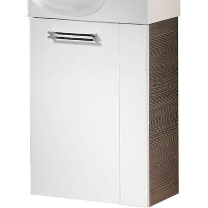 fackelmann waschbeckenunterschrank g ste wc rechts 44 cm como pinie wei kaufen bei obi. Black Bedroom Furniture Sets. Home Design Ideas
