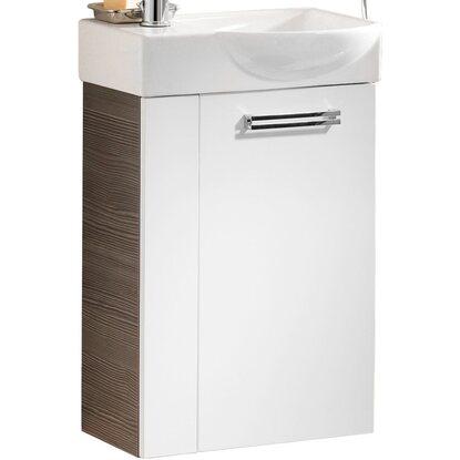 fackelmann waschbeckenunterschrank g ste wc links 44 cm como pinie wei kaufen bei obi. Black Bedroom Furniture Sets. Home Design Ideas