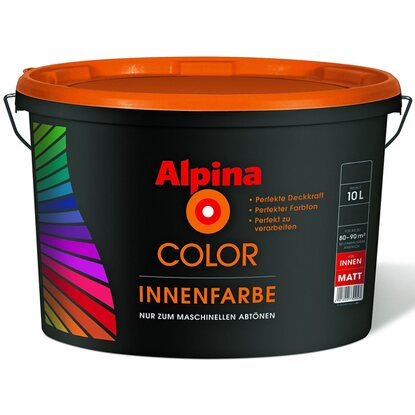 Alpina Color Innenfarbe B2 matt 10 l