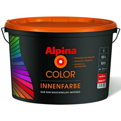 Alpina Color Innenfarbe B1 matt 10 l