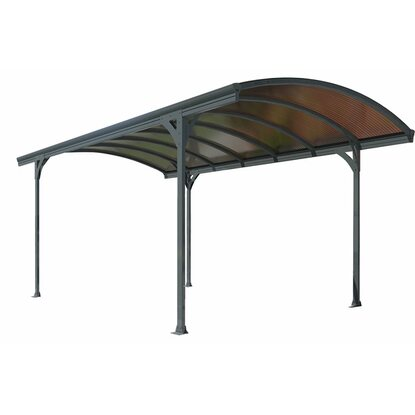 Tepro carport vitoria 5000 anthrazit 290 cm x 500 cm x 240 for Tepro carport