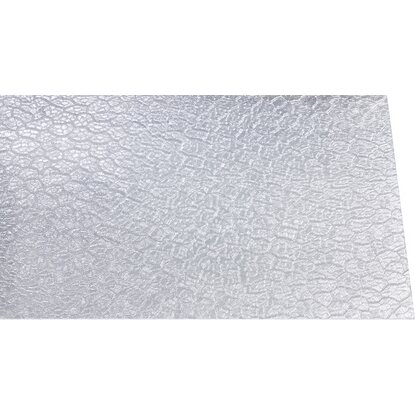 Polystyrol-Platte 2,5 mm Wabe Transparent 1000 mm x 500 mm