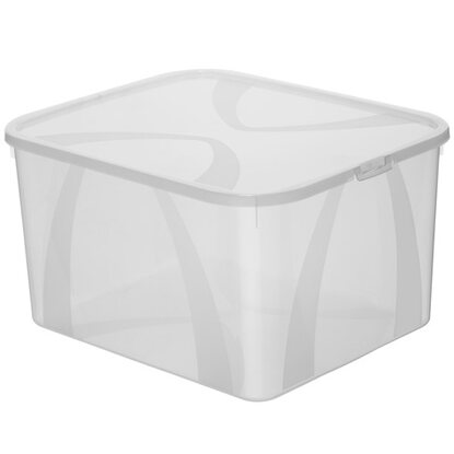 Rotho Clear Box Arco Sweater Transparent 25 l
