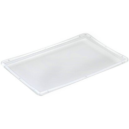 OBI Eurobox-System Tauro Deckel für Box 60 x 40 cm Transparent