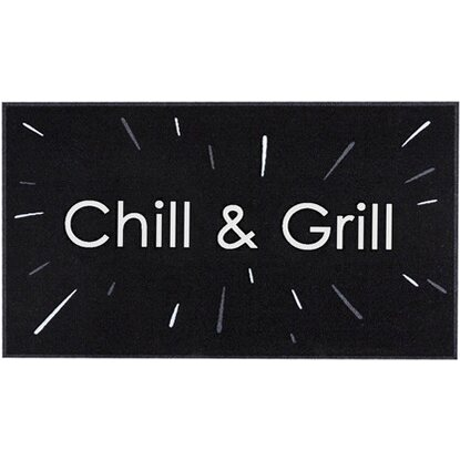 "BBQ Matte ""Chill and Grill"" 67 cm x 120 cm"