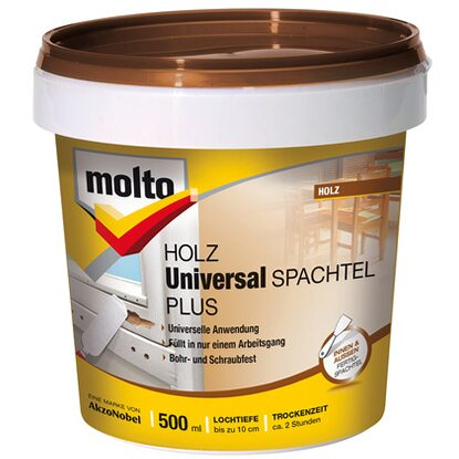 Molto Holz Universal-Spachtel Plus 500 ml