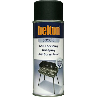 Belton Special Grill-Lack Spray Schwarz matt 400 ml