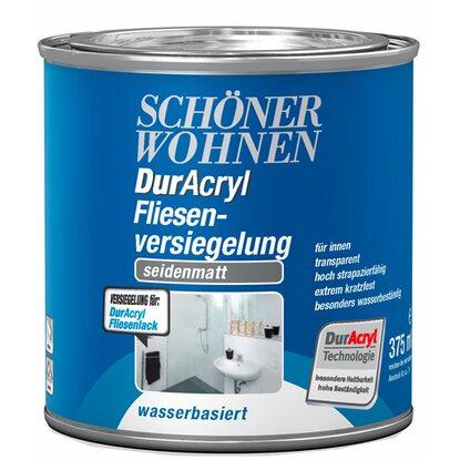 Schöner Wohnen DurAcryl Fliesenversiegelung Transparent seidenmatt ...