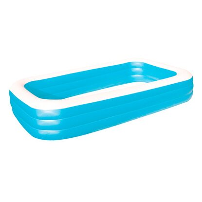 Bestway swimming pool family kaufen bei obi for Bestway pool bei obi