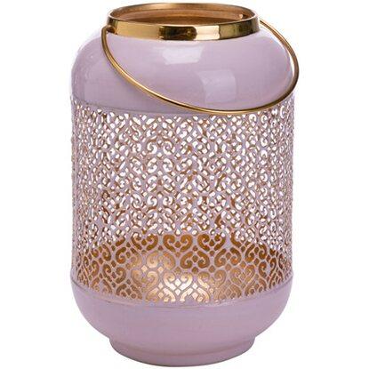 windlicht indira rosa kaufen bei obi. Black Bedroom Furniture Sets. Home Design Ideas