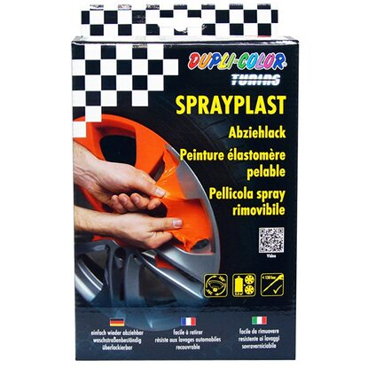 Dupli-Color Abziehlack Spray Set Orange