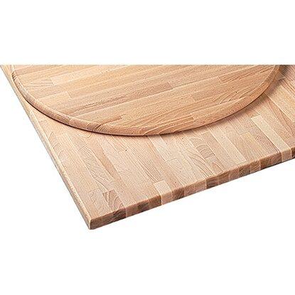 tischplatte rund buche 60 cm x 2 8 cm kaufen bei obi. Black Bedroom Furniture Sets. Home Design Ideas