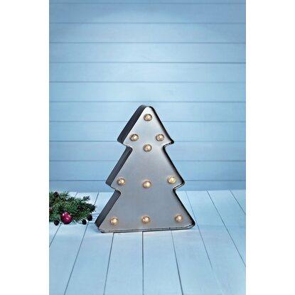 led deko leuchte j rnerud weihnachtsbaum antik grau 10. Black Bedroom Furniture Sets. Home Design Ideas