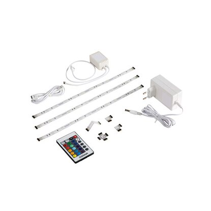 Osram LED-Flexband EEK: A RGB 3 Streifen Base-Kit