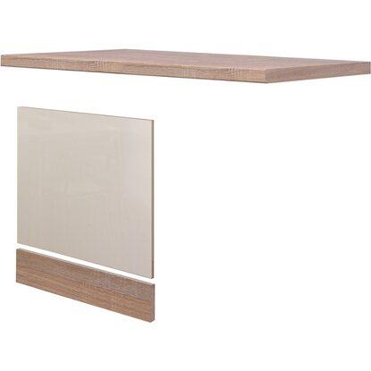 flex well exclusiv geschirrsp ler paket teilintegriert orlando kaschmir eiche kaufen bei obi. Black Bedroom Furniture Sets. Home Design Ideas