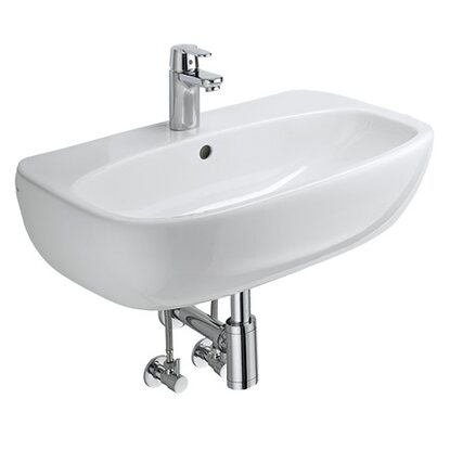 Obi waschbecken komplett set 60 cm alegro kaufen bei obi for Waschbecken komplett set