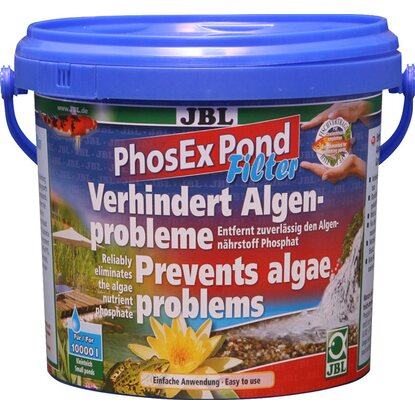 JBL Teichpflegemittel PhosEx Pond Filter 1 kg 2,5 l
