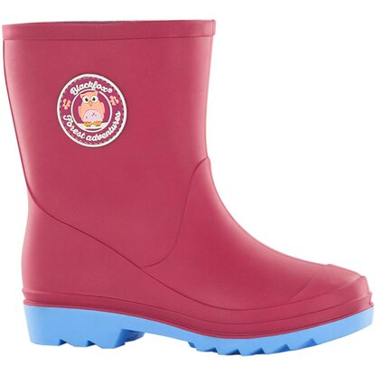 Blackfox Kinderstiefel Happy Rosa Eule Gr. 29/30