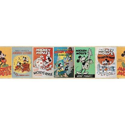Selbstklebende Bordüre Disney Mickey Vintage