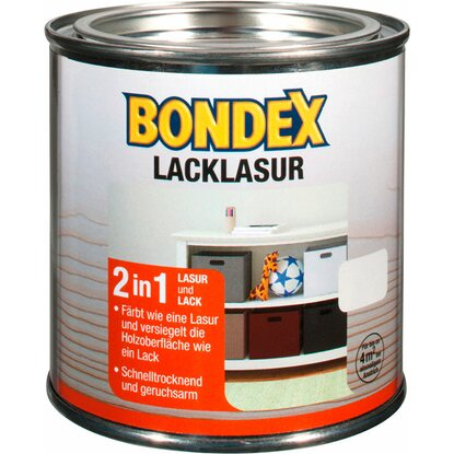Bondex Lack-Lasur Transparent 375 ml
